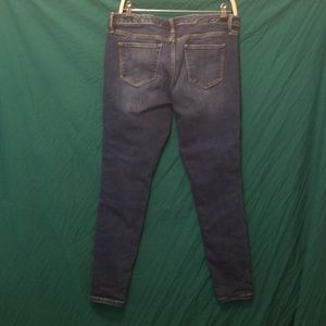 Womens Mossimo Sz 14R Low Rise Skinny Jeans